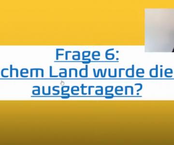 Oranje Berlin | Kinderzimmerfußball mitmach Quiz Livesendung